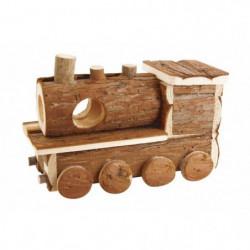 BUBIMEX Maison en bois train - Pour rongeur
