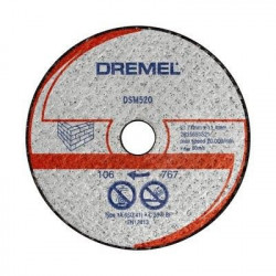DREMEL Disque diamanté faience DSM540 pour DSM20