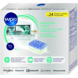 WPRO TAB100 24 tablettes tout en 1 pour lave-vaisselle