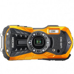 RICOH WG 50  Orange - Compact outdoor 16 MP + Etui Néoprene