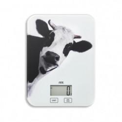ADE Balance électrique Inka - Décors Vache - 5kg / 1g