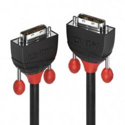 LINDY Câble DVI-D Single Link - Black Line - 3m