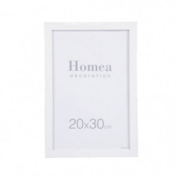 HOMEA Cadre photo Loft 20x30 cm blanc