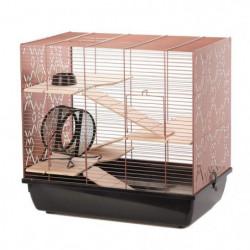 DUVO Cage Copper Lex - 58x38x55,5 cm - Noir et cuivre