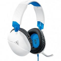 TURTLE BEACH Casque gamer Recon 70P pour PS4 et PS4 Pro Blanc