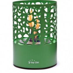 PURLINE ASTREA GREY Cheminée bioéthanol de table design
