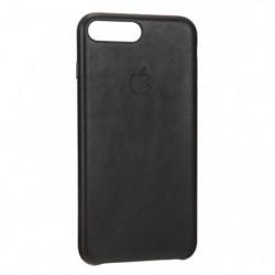 Apple Coque en Cuir pour iPhone 7 Plus Noir