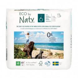 NATY Culottes d'apprentissage - Taille 6 - - 16 kg - Lot de 18