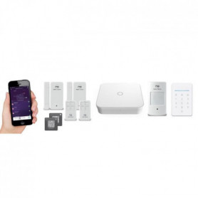 NEW DEAL Pack Alarme maison WIFI / LAN /GSM