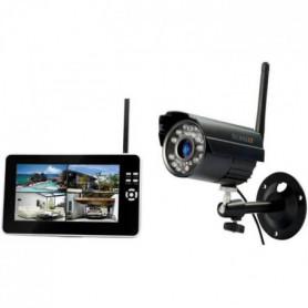TECHNAXX Kit de surveillance TX-28 caméra + écran