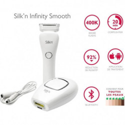 SILK'N Coffret Infinity Smooth Epilation définitive