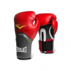 EVERLAST Gants de boxe Pro Style Elite - Mixte - Rouge - 8 Oz