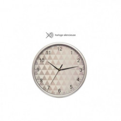 CASITA Horloge design graphique - Ø30 x 3,5 cm