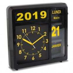 ORIUM Horloge a date a volets Visual - Caracteres grand format