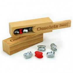 JEUJURA Coffret en bois - Osselets