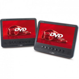 """CALIBER MDP 278T Double lecteur DVD portables 7"""""""