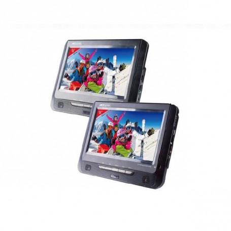 """TAKARA VRT199 Lecteur DVD Portable 2 Combinés 9"""""""