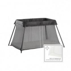 BABYBJÖRN Lit Parapluie + Drap-housse - Noir