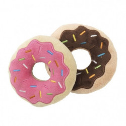FUZZYARD Lot de 2 peluches Donuts - Pour chien