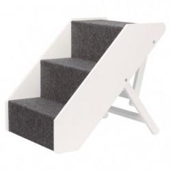 TRIXIE Escalier - 40 x 67 cm - Réglable en hauteur - Blanc