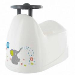 DBB REMOND Pot bébé - Décor éléphant avec volant - Bébé mixte