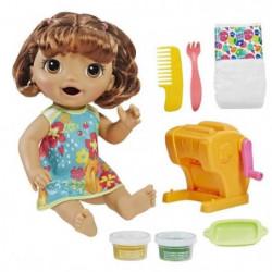 BABY ALIVE Super Snacks - Poupon a Fonctions (cheveux bruns)