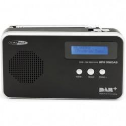 CALIBER HPG316DAB/B Radio portative FM/DAB+ avec pile