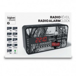 BIGBEN RR15METRO Radio Réveil - Décor métro