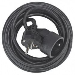 DEBFLEX Rallonge 5 m 16 A noir