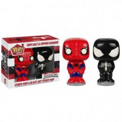 1 Poivrier & 1 Saliere Figurines Funko Pop! Marvel: Spider-Man