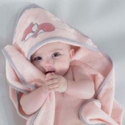 KINOUSSES Set de bain Renarde - Bébé mixte - 70 x70 cm