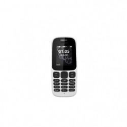 NOKIA 105 Téléphone portable Blanc DS