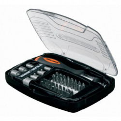 BLACK & DECKER Kit de tournevis a cliquet avec 40 accessoires
