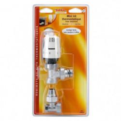 DIPRA Mini kit thermostatique Raccord auto étanche équerre