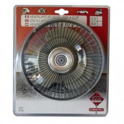 Ventilateur Oscillant 12V 16cm
