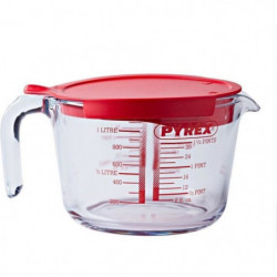 PYREX Broc mesureur en verre  1 L