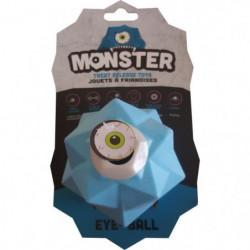 DEMAVIC Balle Monster - Bleu - Grande taille- Pour chien