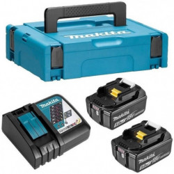 MAKITA Pack energie 18 V Li-ion - 2 batteries (5Ah)