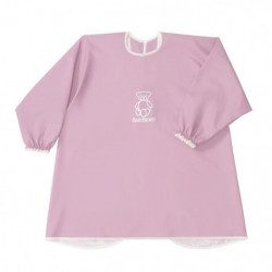 BABYBJORN - Bavoir a Manches Longues, Rose