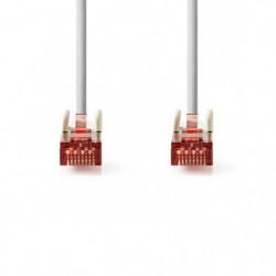 Cable Réseau Cat 6 S-FTP | RJ45 Male - RJ45 Male | 1,0 m