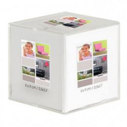 Cadre photo cube cristal Bea 9x9 cm - Ceanothe