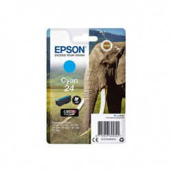EPSON Cartouche T2422 - Eléphant - Cyan