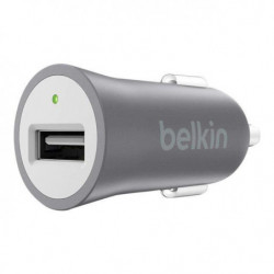 BELKIN Adaptateur allume-cigare - Type USB - Gris