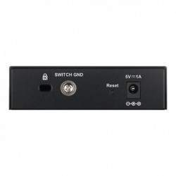 Switch administrable Gigabit 5 ports 10/100/1000 Mbps