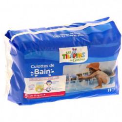 LES TILAPINS Couches de Bain Taille 5 x11