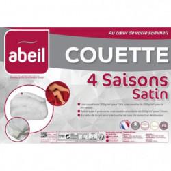ABEIL Couette 4 SAISONS Satin de Coton 220x240cm