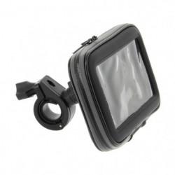 MQS Support smartphone pour moto - 8,5 x 15 cm - Noir