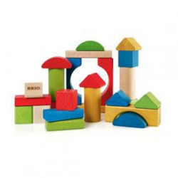 BRIO - 30114 - Blocs De Construction Colores - 25 Pces