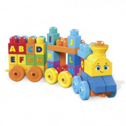 MEGA BLOKS - Le Train de l'Alphabet