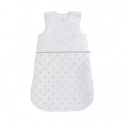 ABSORBA Gigoteuse Chut bébé dort - 100% coton - 70 cm - Gris